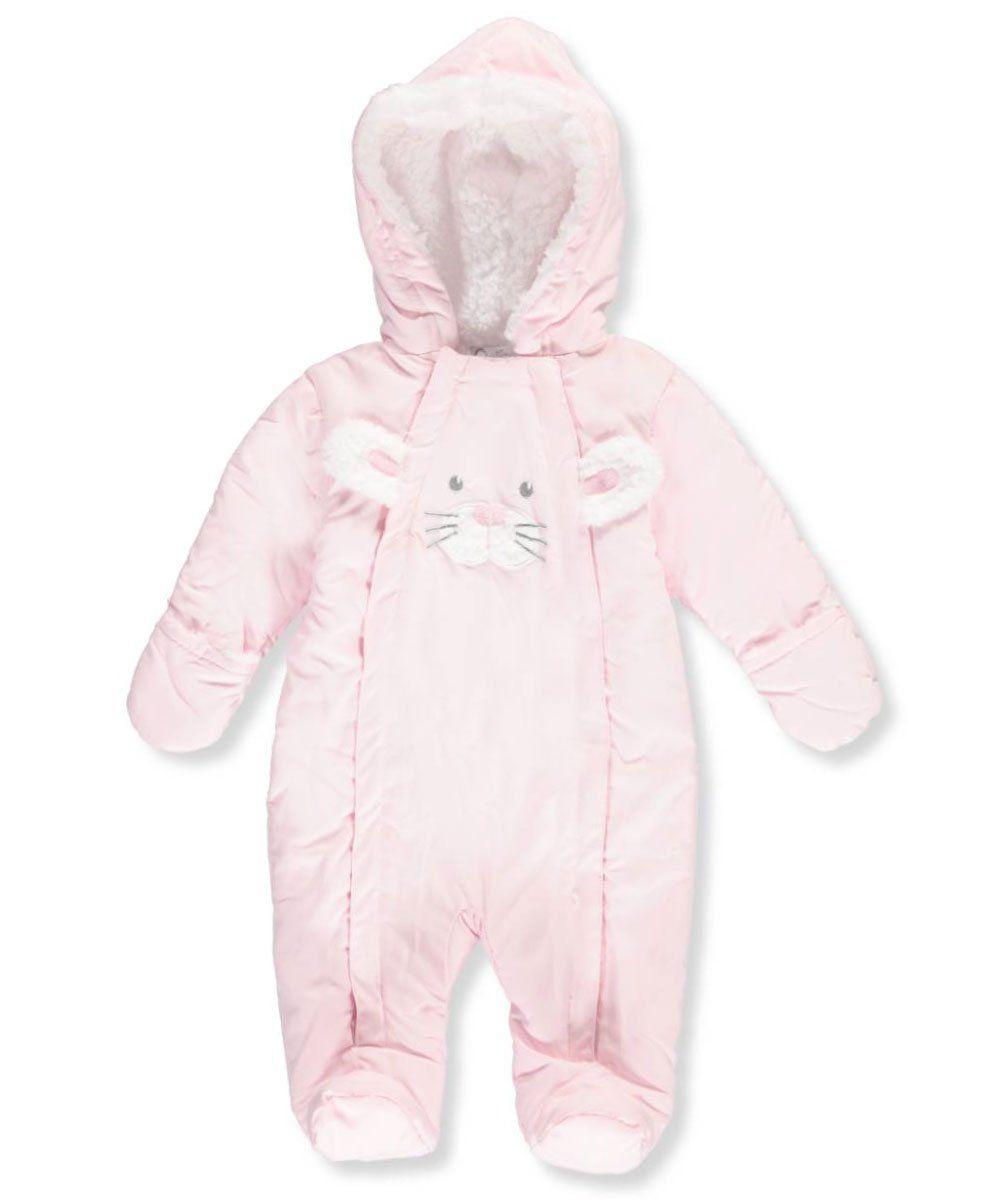 b06737fd2 Quiltex Baby Girls  Pram Suit - light pink
