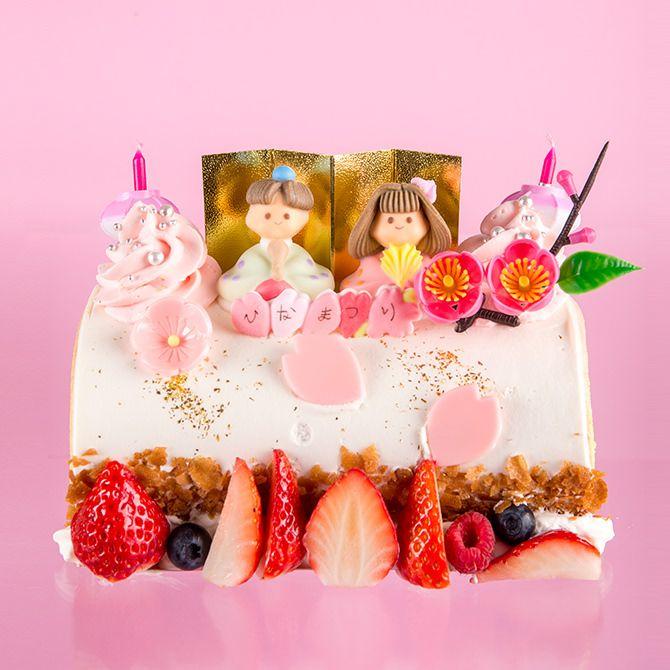 モンシェール ひなまつりケーキ