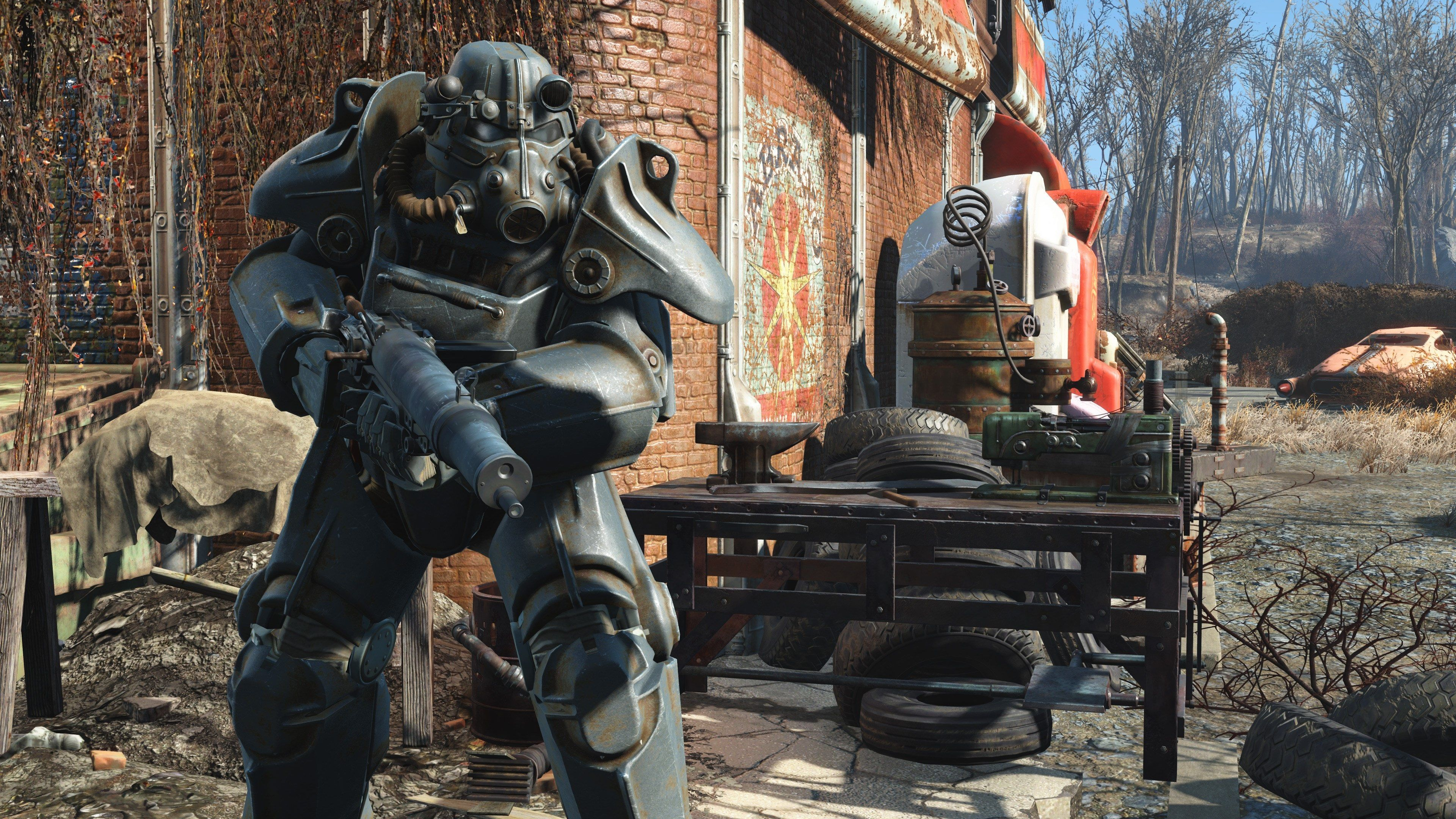 3840x2160 Fallout 4 4k Cool Desktop Wallpaper Fallout Monster Pc Ps4 Pro
