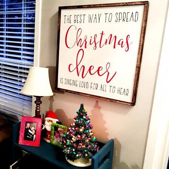 Christmas Cheer FREE SHIPPING #christmashome