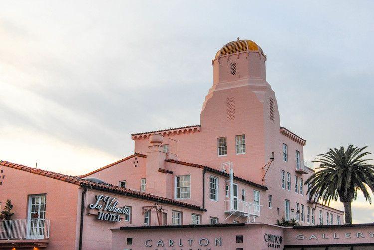 Weekend Girls Trip To La Valencia Hotel In San Diego California