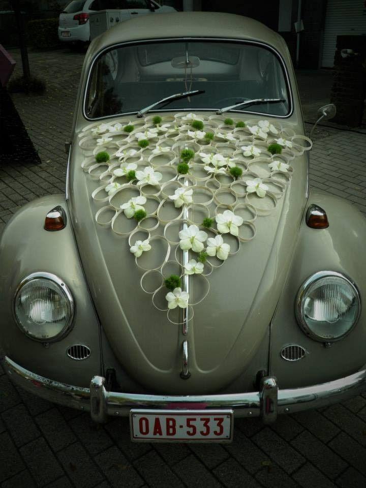 Wedding Car Design Klorofyl B Auto Bruiloft Trouwauto Decoraties En Auto Versieren