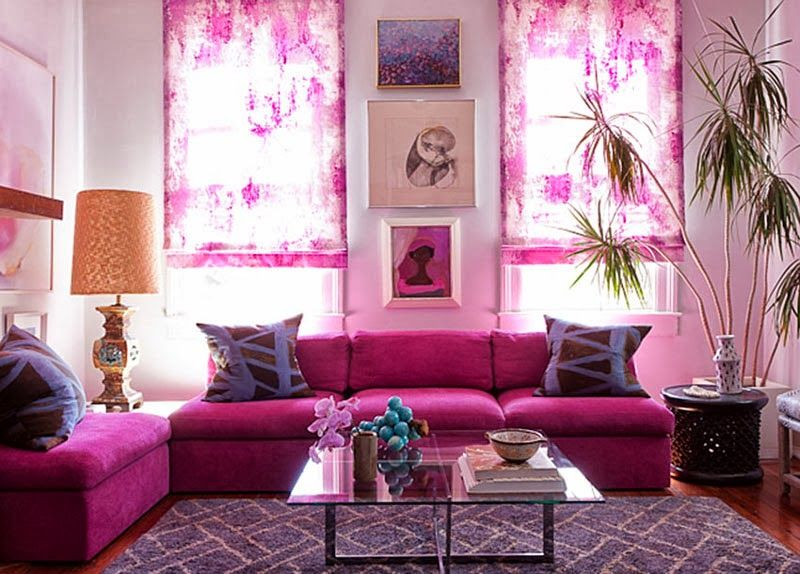 Shocking pink! Love it... | Tres Chic Home Decor | Pinterest | Pink ...