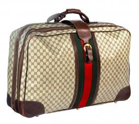 f71248a8ef7 1  VINTAGE GUCCI SUITCASE  on