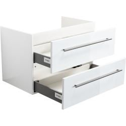 Photo of Base cabinet for Subway 2.0 80 cm white high gloss EmotionEmotion