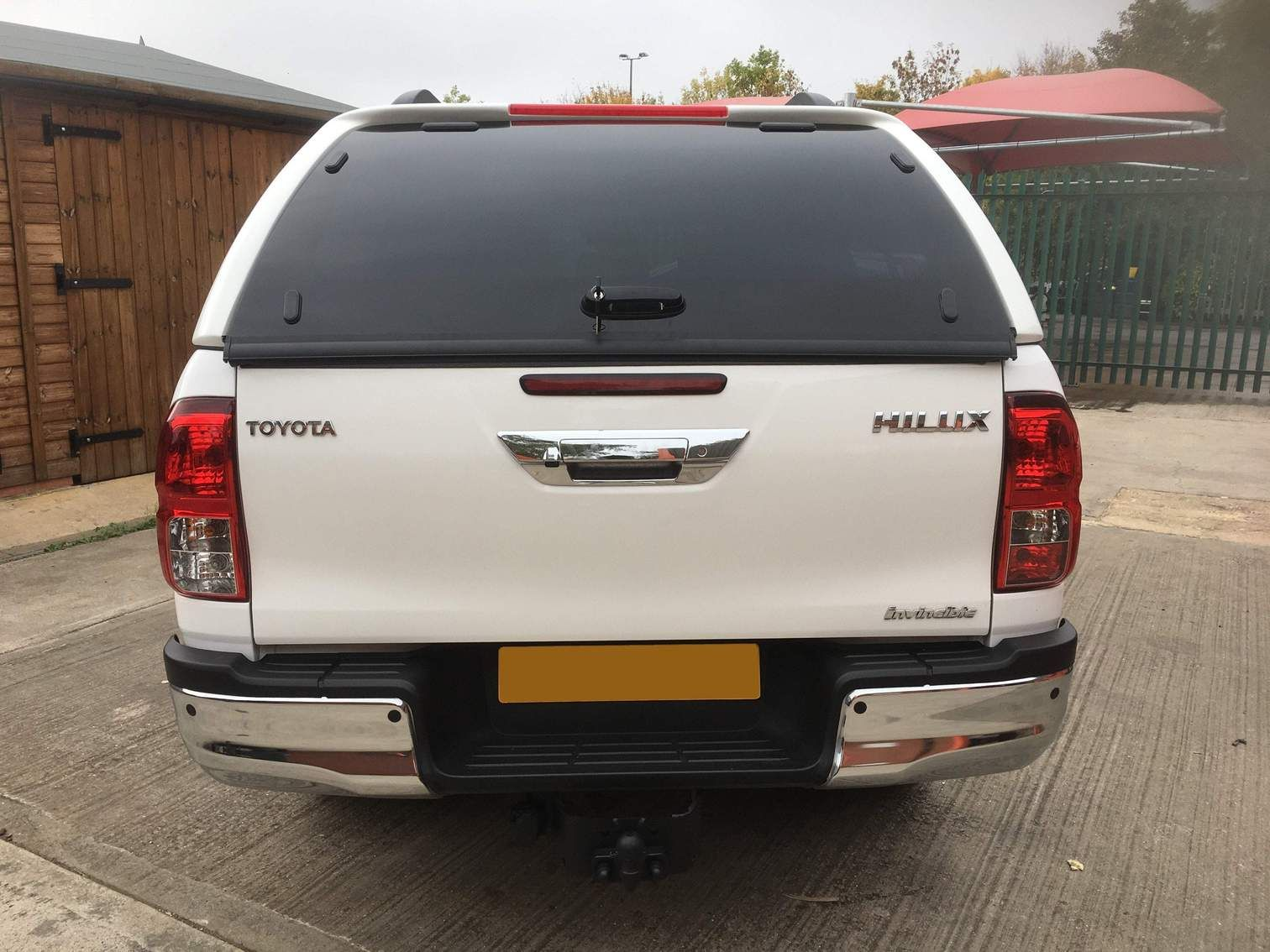 Toyota Hilux 2016On Lupo S1 Leisure Hardtop Canopy
