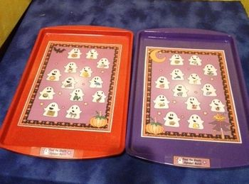 Cute letter match file folder or cookie sheet game $2.50