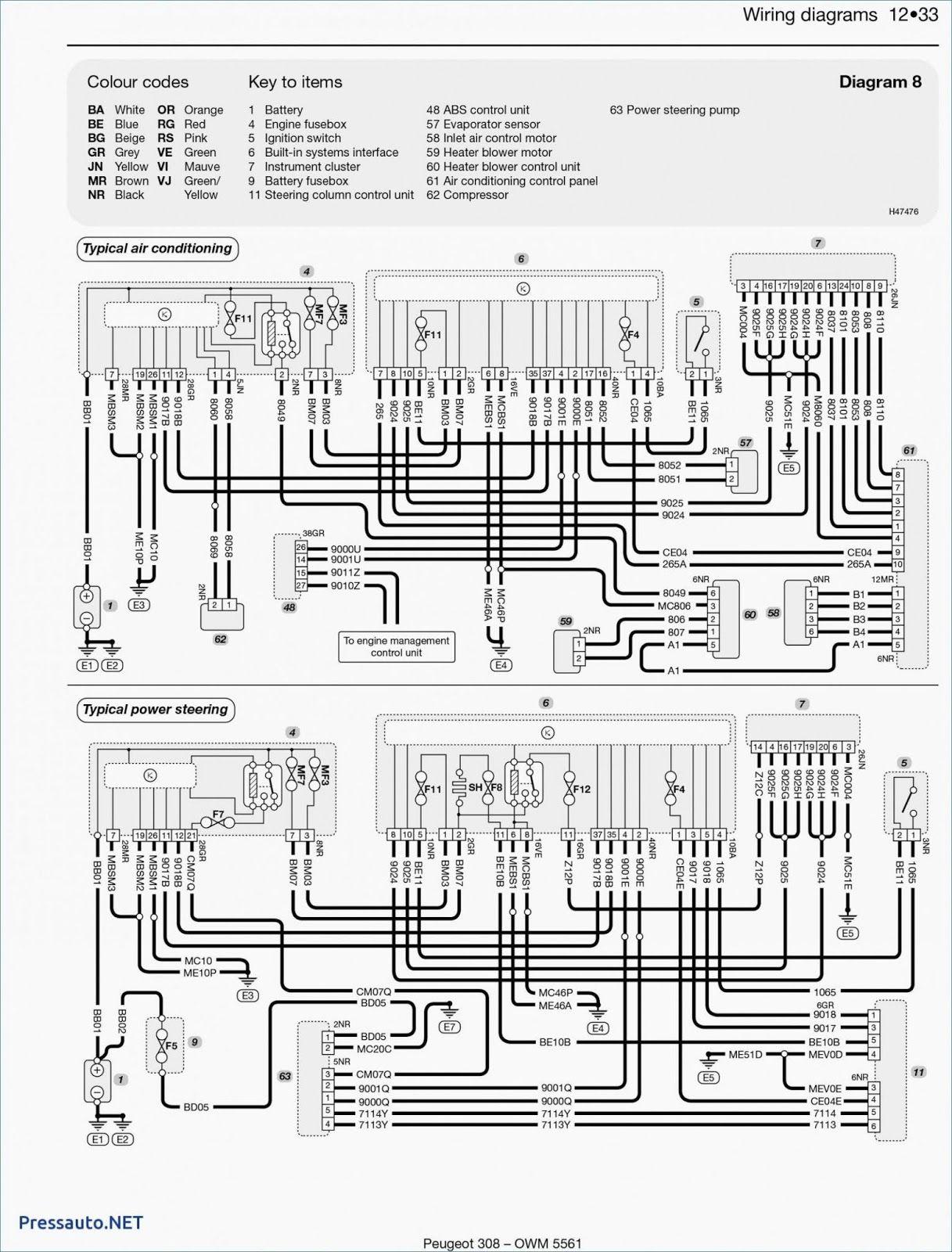 Engine Wiring Diagram Peugeot 8 Zet Peugeot Diagram Electrical Symbols