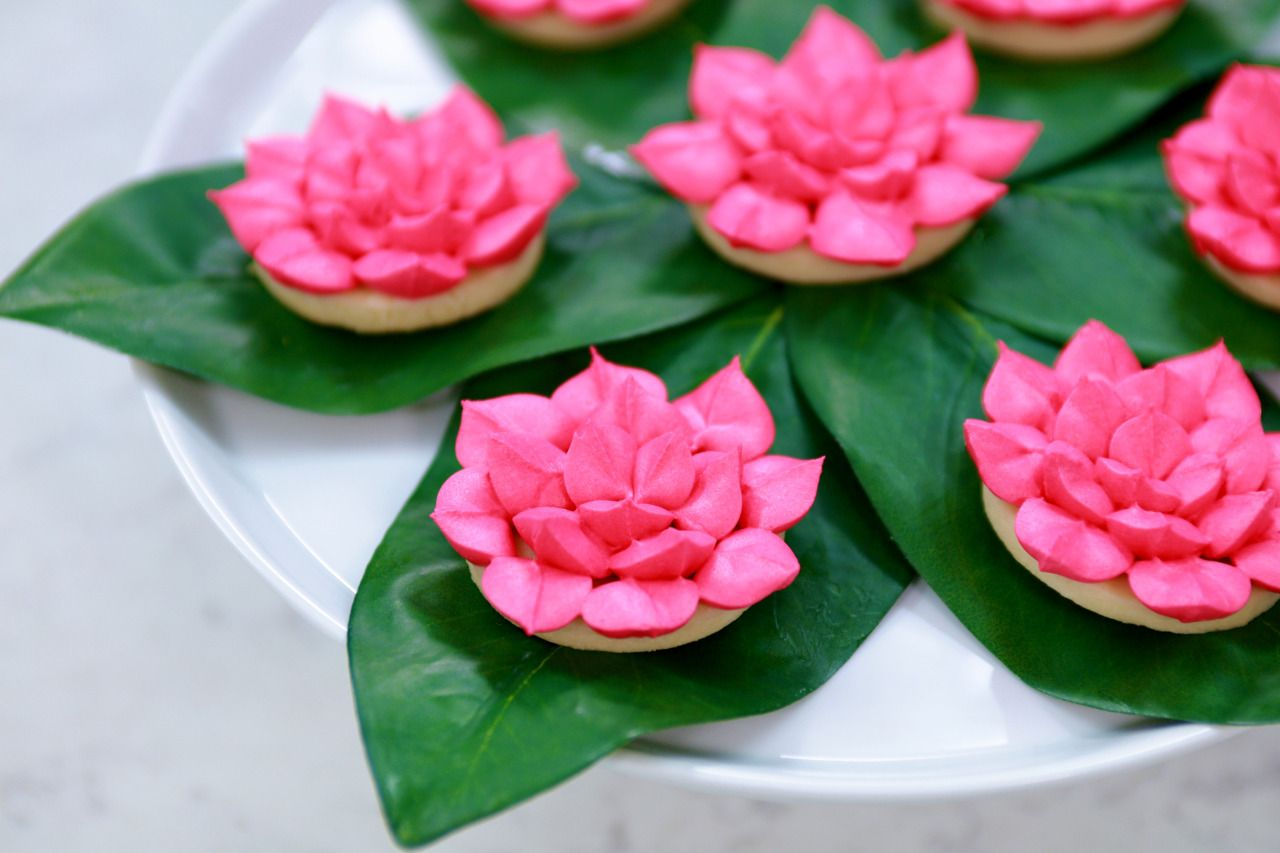 Percy Jackson Lotus Flower Cookies Vegan Yields 2 Dozen Cookies