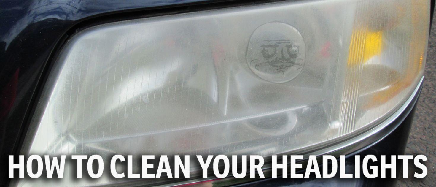 how to defog headlights diy