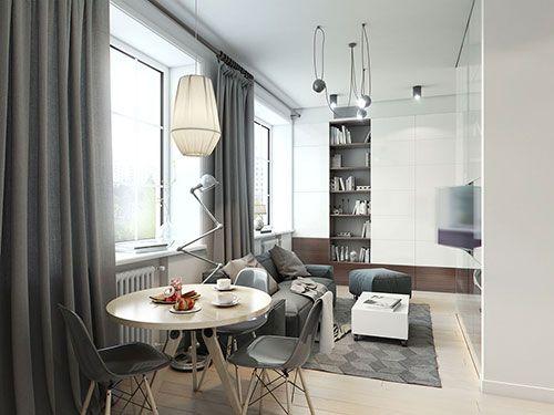 Klein Appartement Inrichting : Praktische inrichting van klein appartement ideeën voor het huis