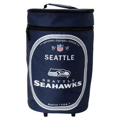 Seattle Seahawks Tallboy Rolling Cooler