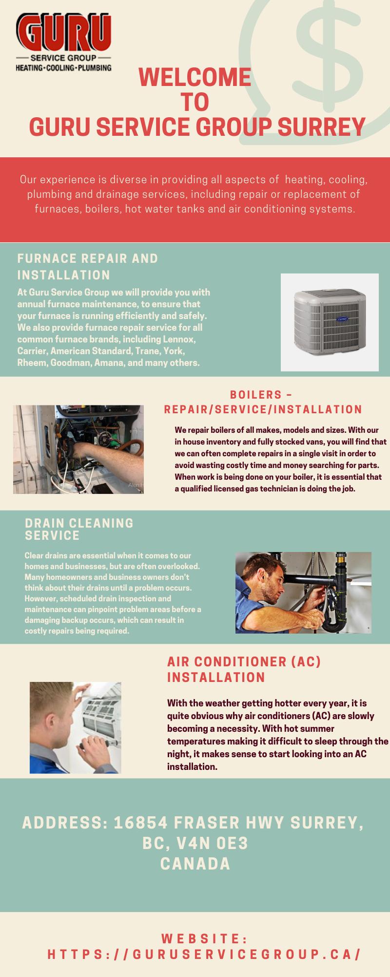 Hot Water Tank Repair and Replacement Guru Service Group