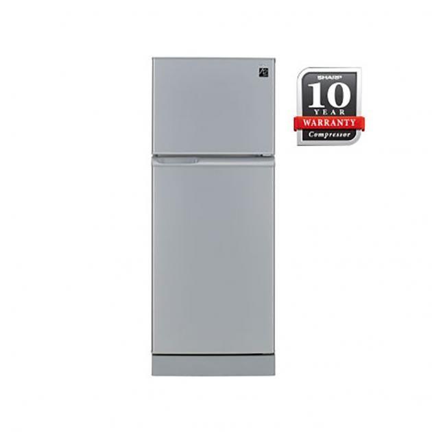 Sharp 220l Smile Series 2 Door Refrigerator Sj224msl Refrigerator Top Freezer Refrigerator Doors