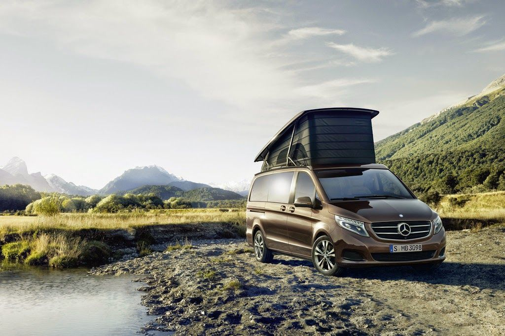 mercedes benz marco polo campingfahrzeuge aktuell. Black Bedroom Furniture Sets. Home Design Ideas