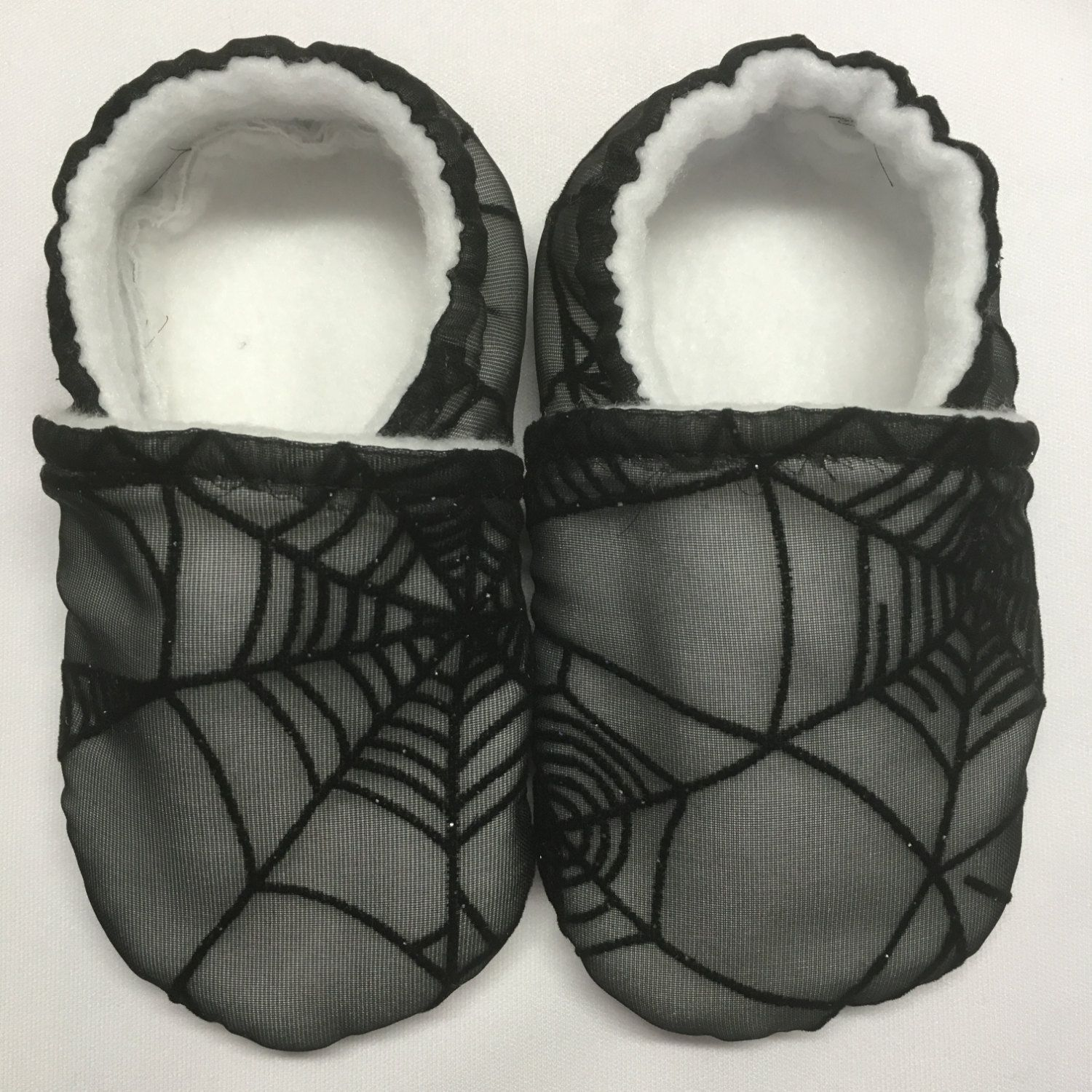 Spiderweb Halloween Soft Sole Baby Walking Shoes for Newborn Infant