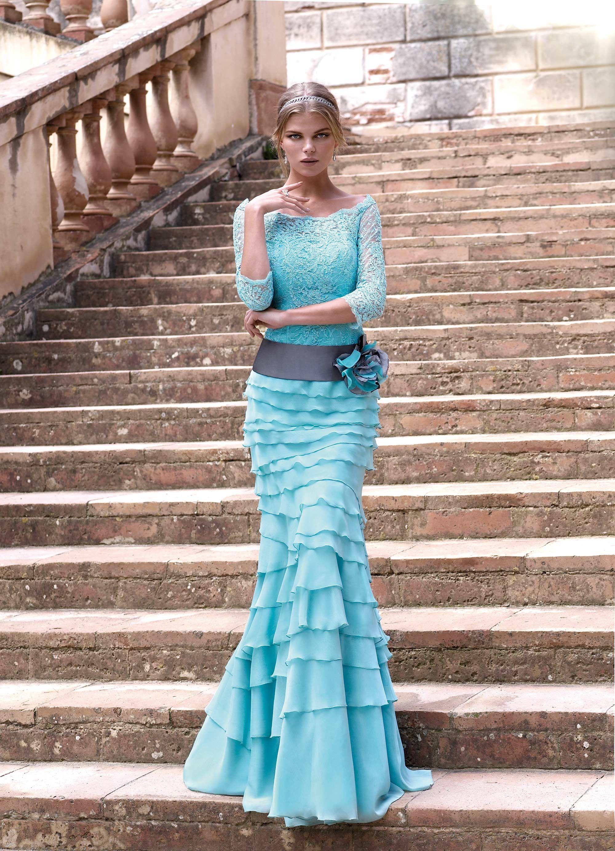 90250 - Vestido de Madrina - Carla Ruiz | vestido de damas ...