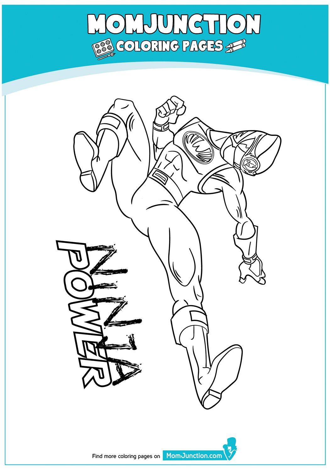 print coloring image MomJunction Color, Coloring pages