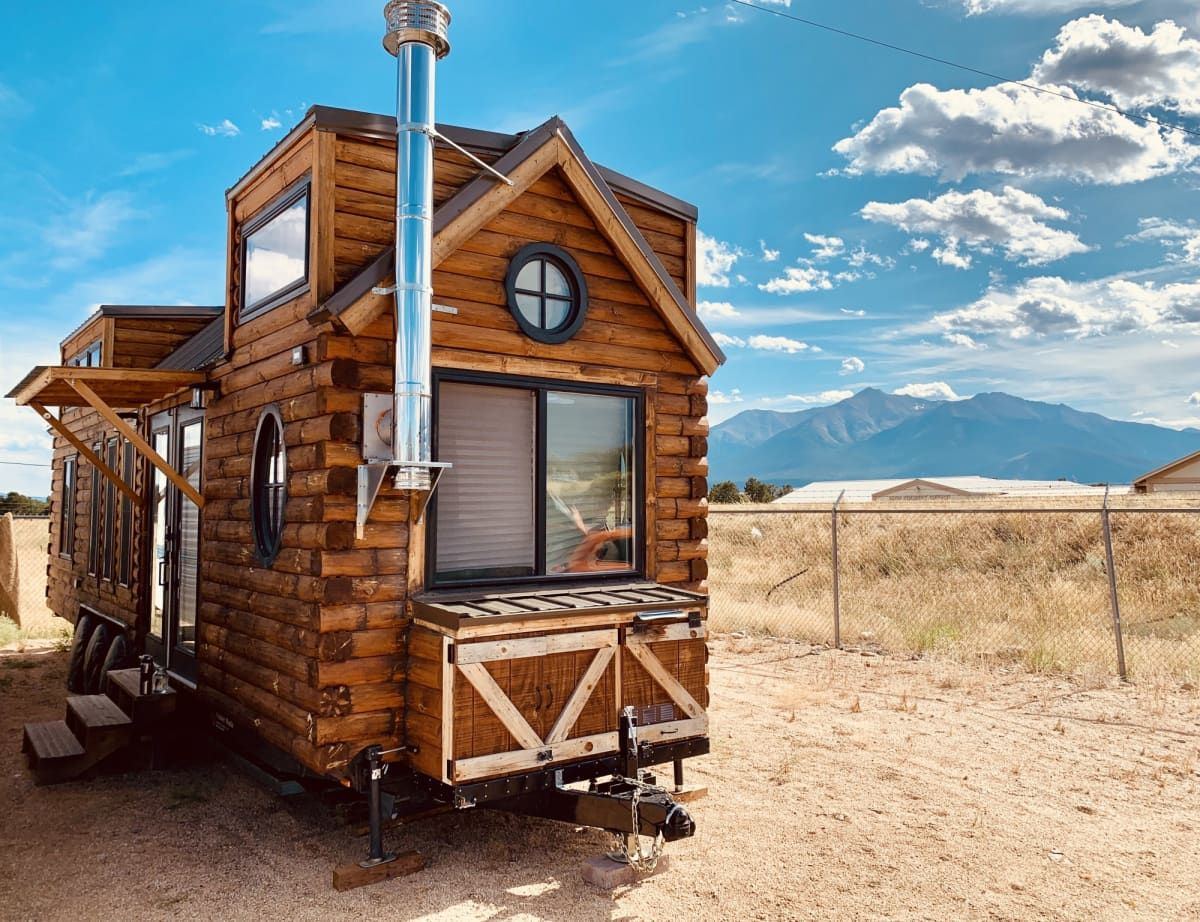 Wandering Cabin Engineered Beautifully Designed Tiny House For Sale In Buena Vista Colorado Tiny House Listings Tiny Houses For Sale Tiny House Listings Tiny House