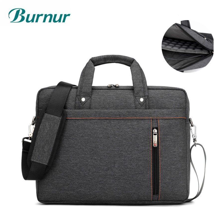 9da77ecd1d680 Brand Luxury thick waterproof Laptop bag 17.3 17 15.6 15 14 13.3 13 inch  Shoulder portable Messenger Women Notebook bag 2017
