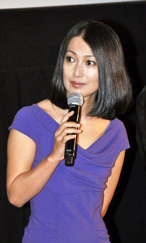ヘアスタイルが素敵な鶴田真由さん