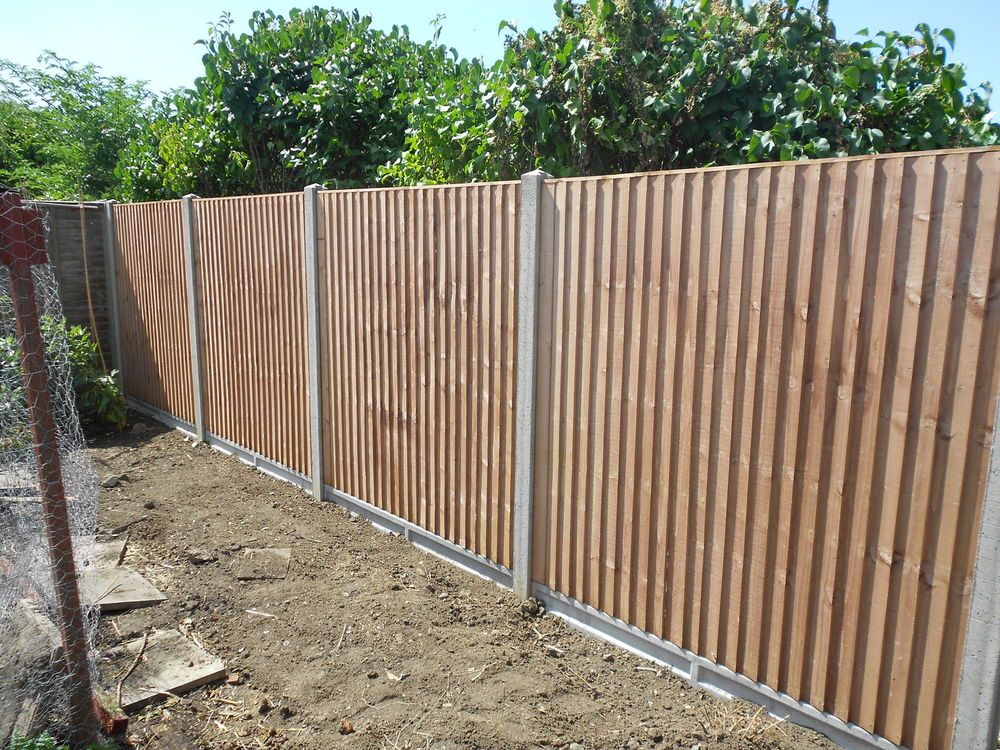 6ft Close Board Fencing / Concrete Posts U0026 Gravel Boards £100 Supplied  U0026Fitted In Garden