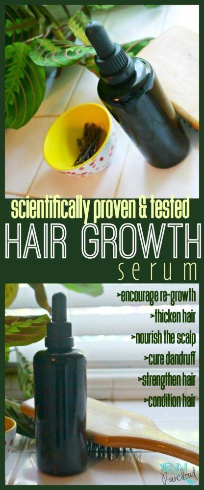 Oils that Promote Hair Growth + DIY Hair Growth Serum Recipe! - Jenni Raincloud