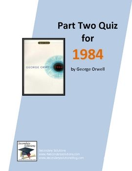 1984 book 2 test answers