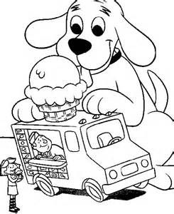 Clifford Coloring Page Print Clifford Pictures To Color At