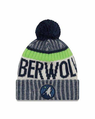 Minnesota Timberwolves Adult NBA Sport Knit Graphite Beanie - Team Color 6dfa1aeacd5