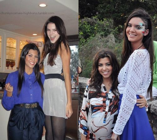 Kourtney Kardashian Kendall Jenner Kendall Jenner Height Kendall And Kourtney Kendall Jenner Tall