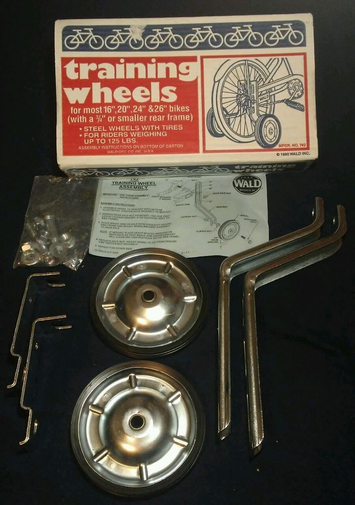 "Wald 742 16 to 26/"" Training Wheels"