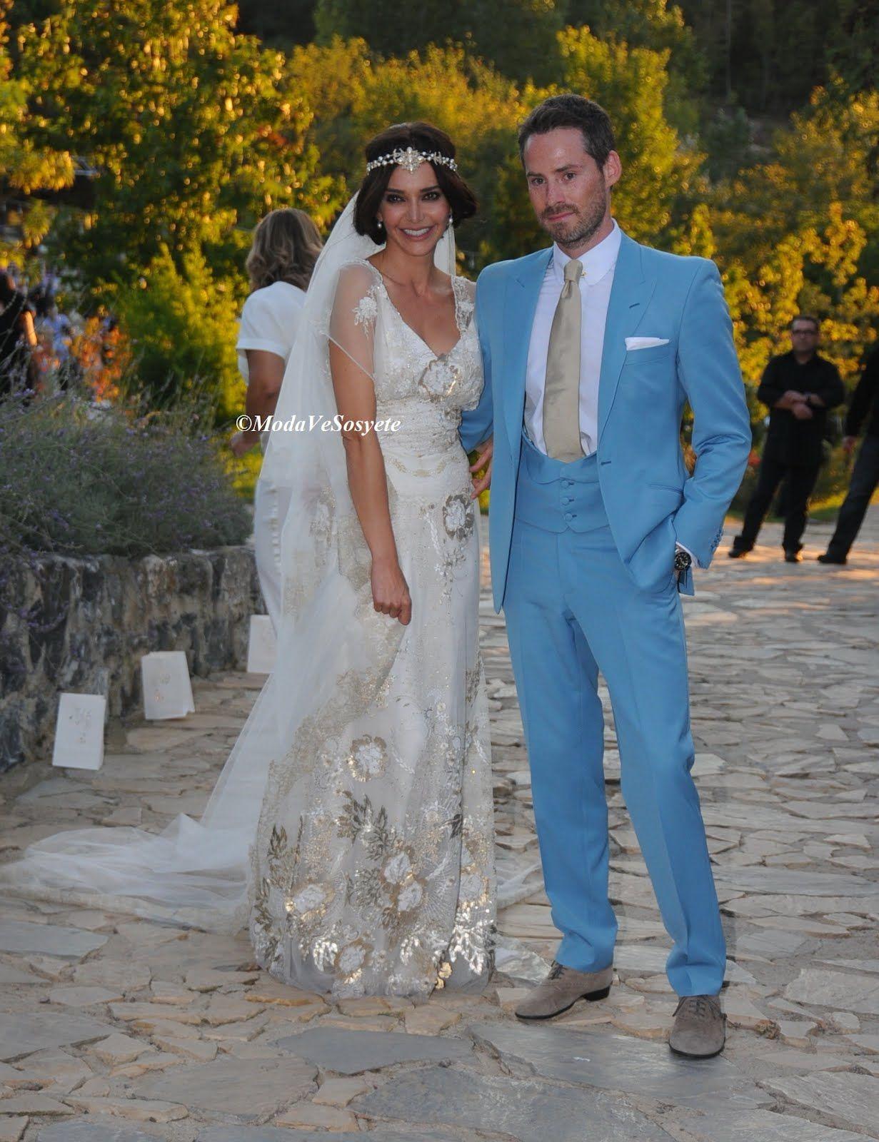 Hande Ataizi ve Benjamin Harvey http://modavesosyete.blogspot.com ...