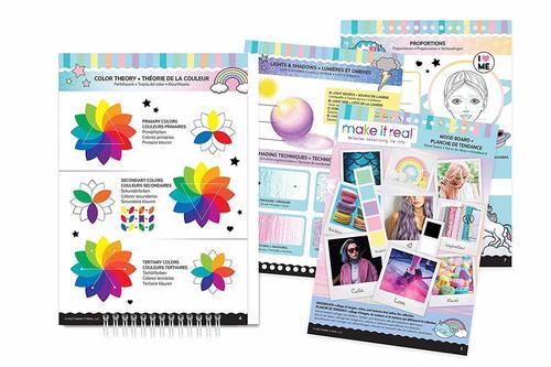 Make It Real Fashion Design Sketchbook Young Illustrators And Fashion Designers Designs Coloring Books Fashion Design Coloring Book Fashion Design Sketchbook
