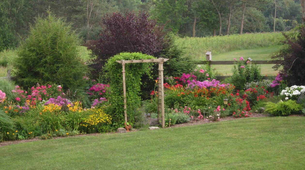 a new england garden