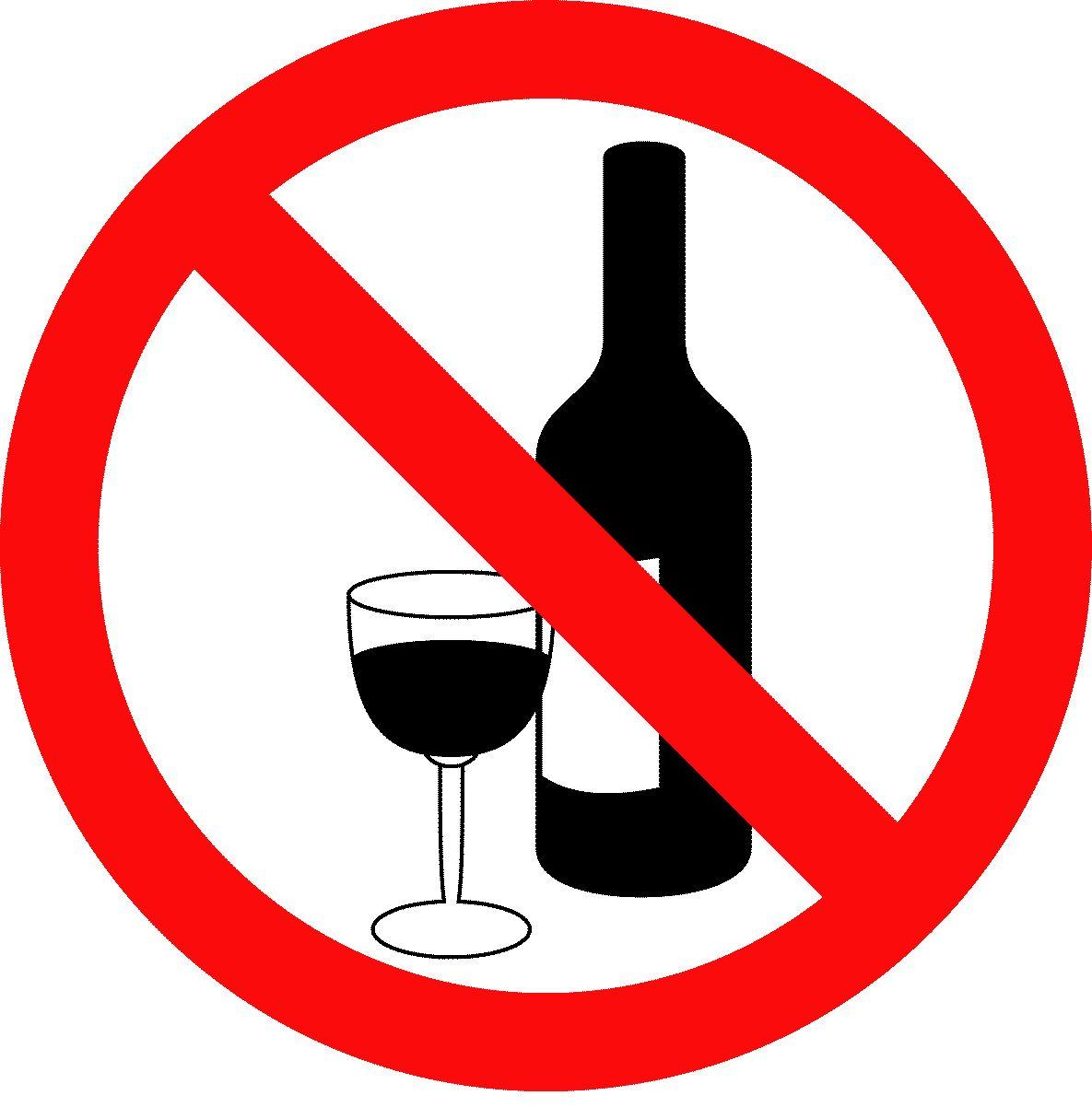 Resultado de imagen para no alcohol
