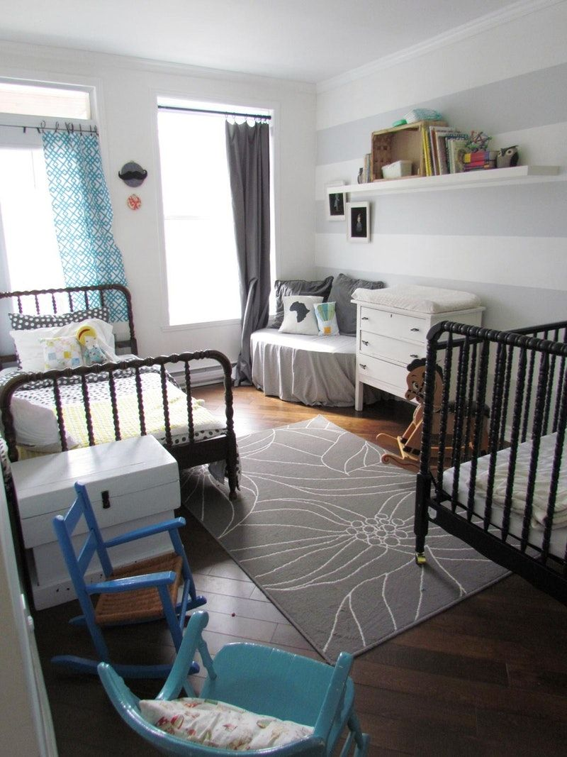 Shared Kids Rooms Making a Multiple Bed
