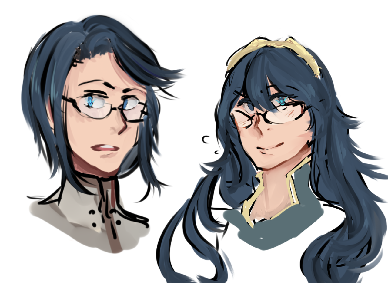 plus glasses! Lucina is a must for me ok? Fire emblem