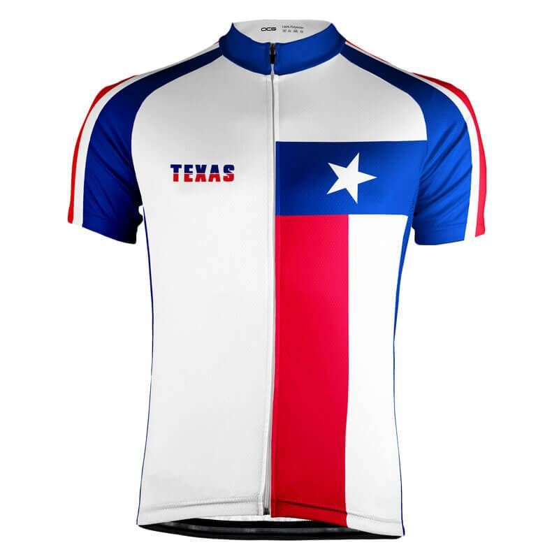 ca86b84f6 Designed right here in the OCG offices is this Texas State Flag Cycling  Jersey made from