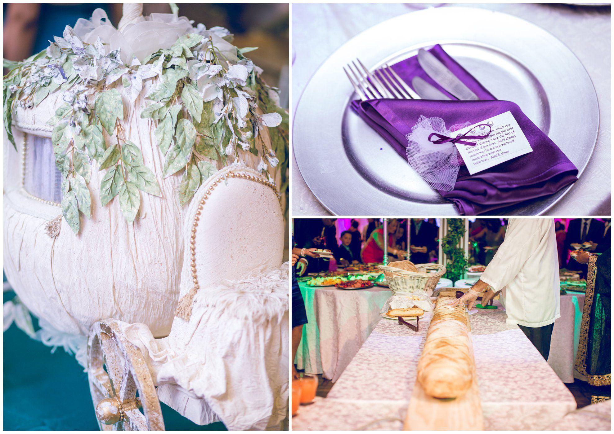 Carriage Money Box And Longest Bread Idea Toronto Indian Wedding Photographer Al Studios