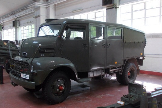 Army Ford COE 4x4 troop carrier