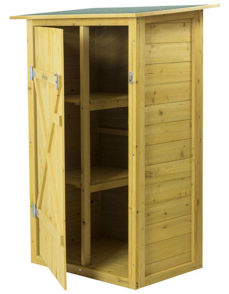 Woodside Wooden Garden Storage Cupboard Outdoor Tool Store Shed Ebay Cupboard Ebay Garden Outdoor In 2020 Cupboard Storage Garden Storage Cabinet Garden Storage
