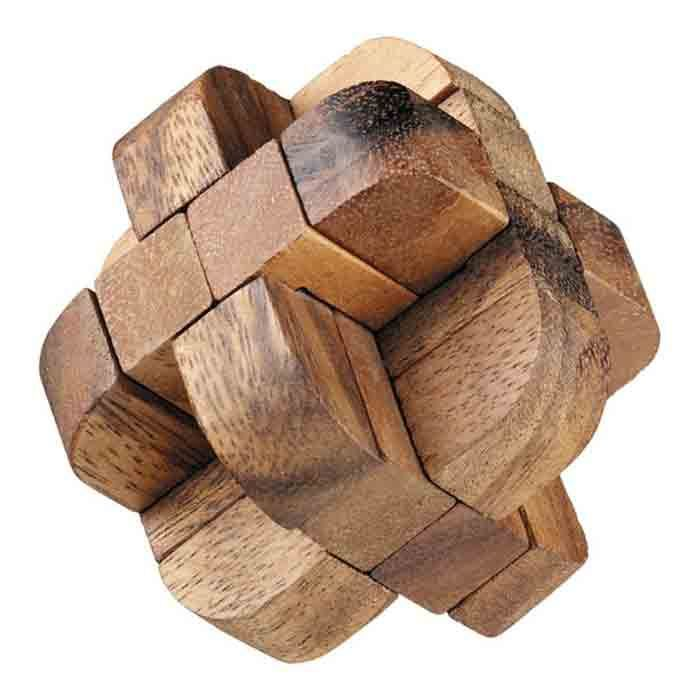 Classic Diamond Puzzle Wood Toys Brain Games Wood