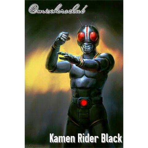 #KamenRiderBlack #Ilustration