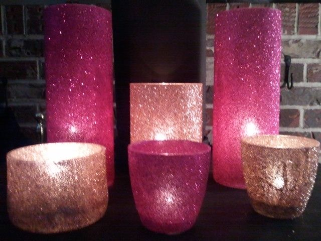 Best 25 Glitter Candle Holders Ideas On Pinterest Gold