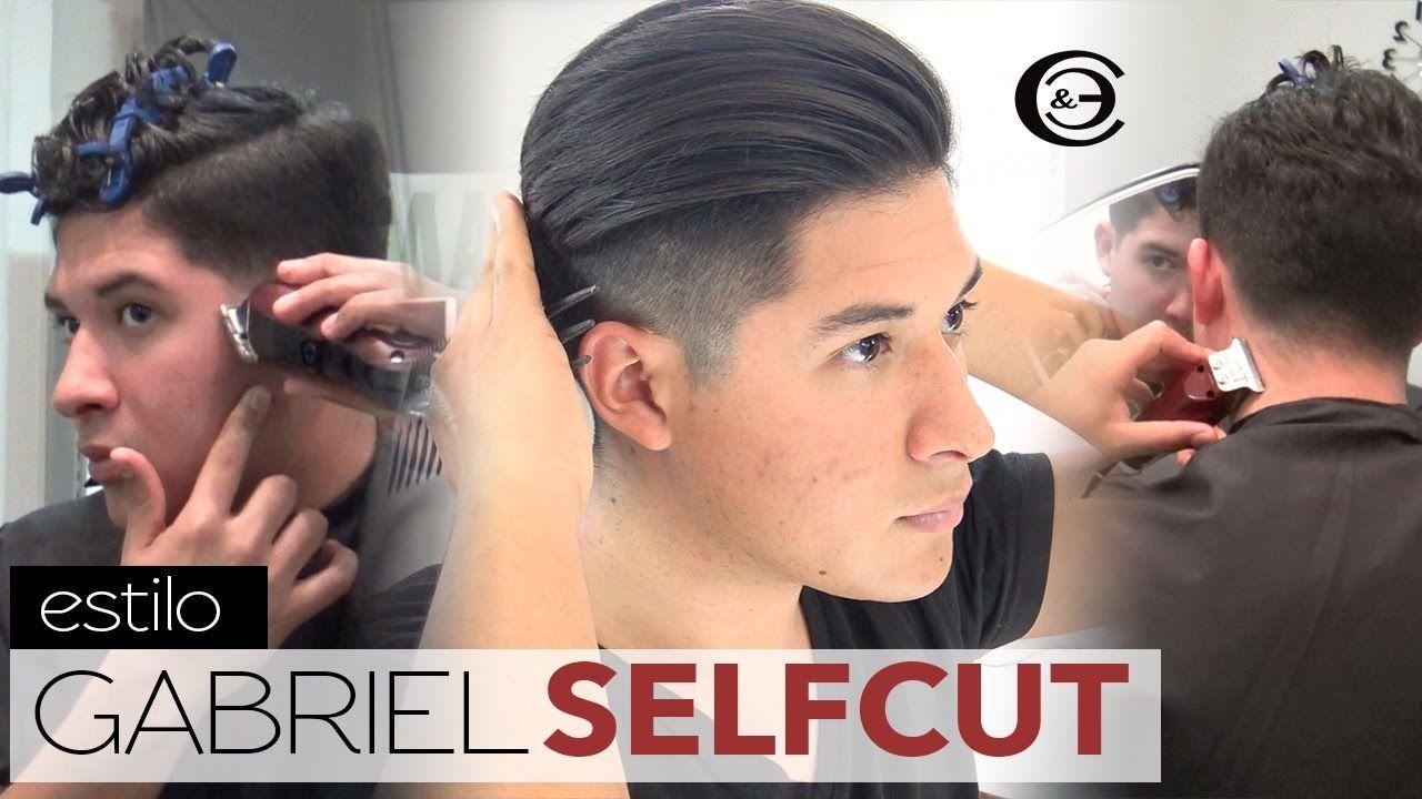 Cmo Cortarse El Cabello Uno Mismo Self Haircut Corte De