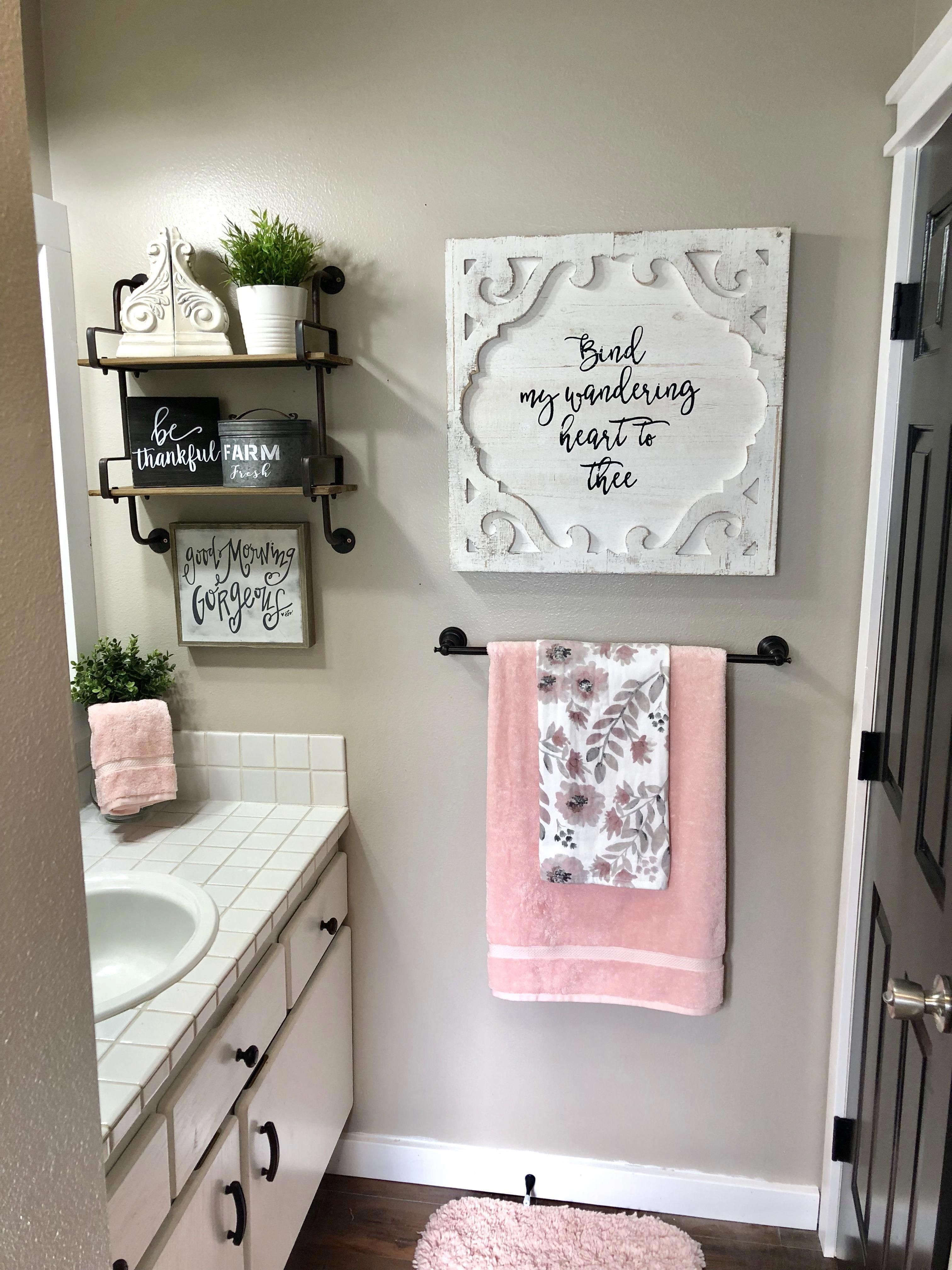 Pin By Angelica Magallanes On Restroom Decor 2020 Relaxing Bathroom Small Bathroom Decor Girl Bathroom Decor
