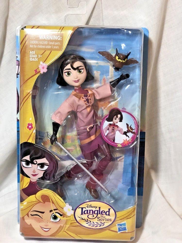 New Htf Disney Rapunzel Tangled The Series Cassandra And Owl Toy Set By Hasbro Hasbro Disney Princess Dolls Disney Tangled Disney Toys