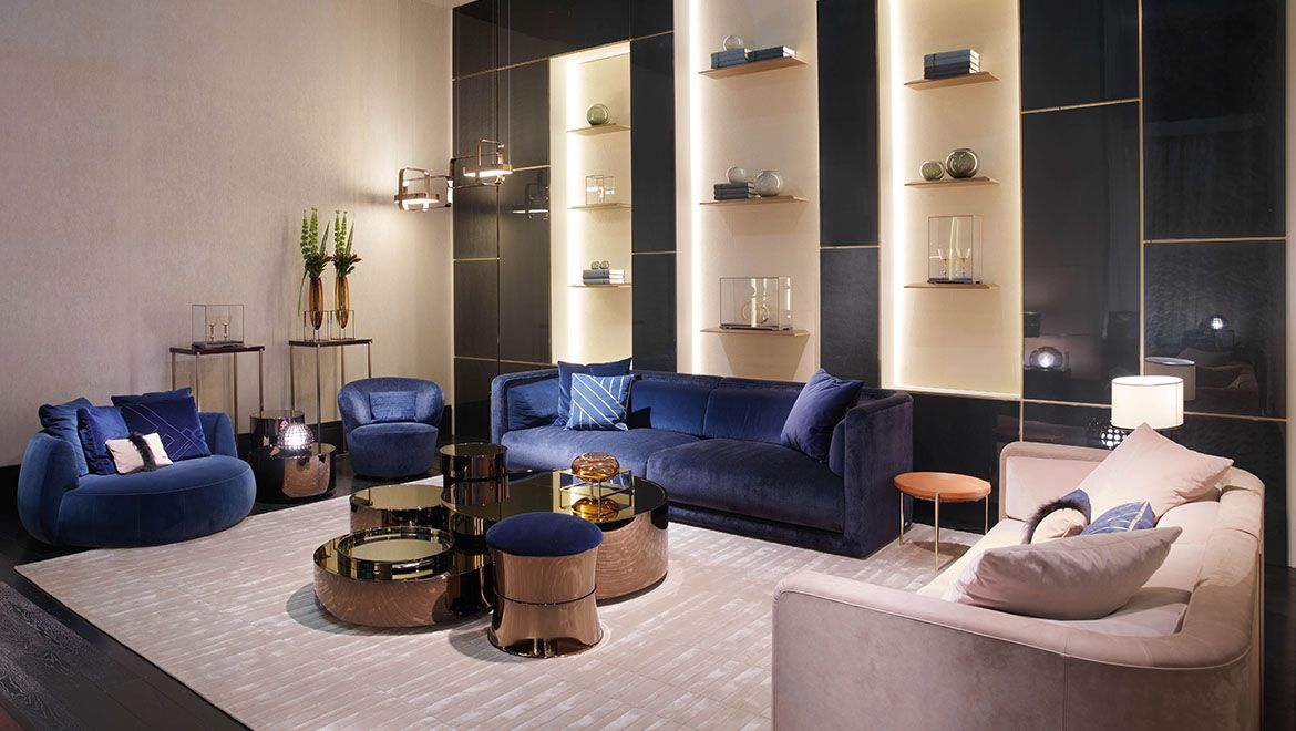Mobili Fendi ~ Home furniture by fendi now that s luxury living october