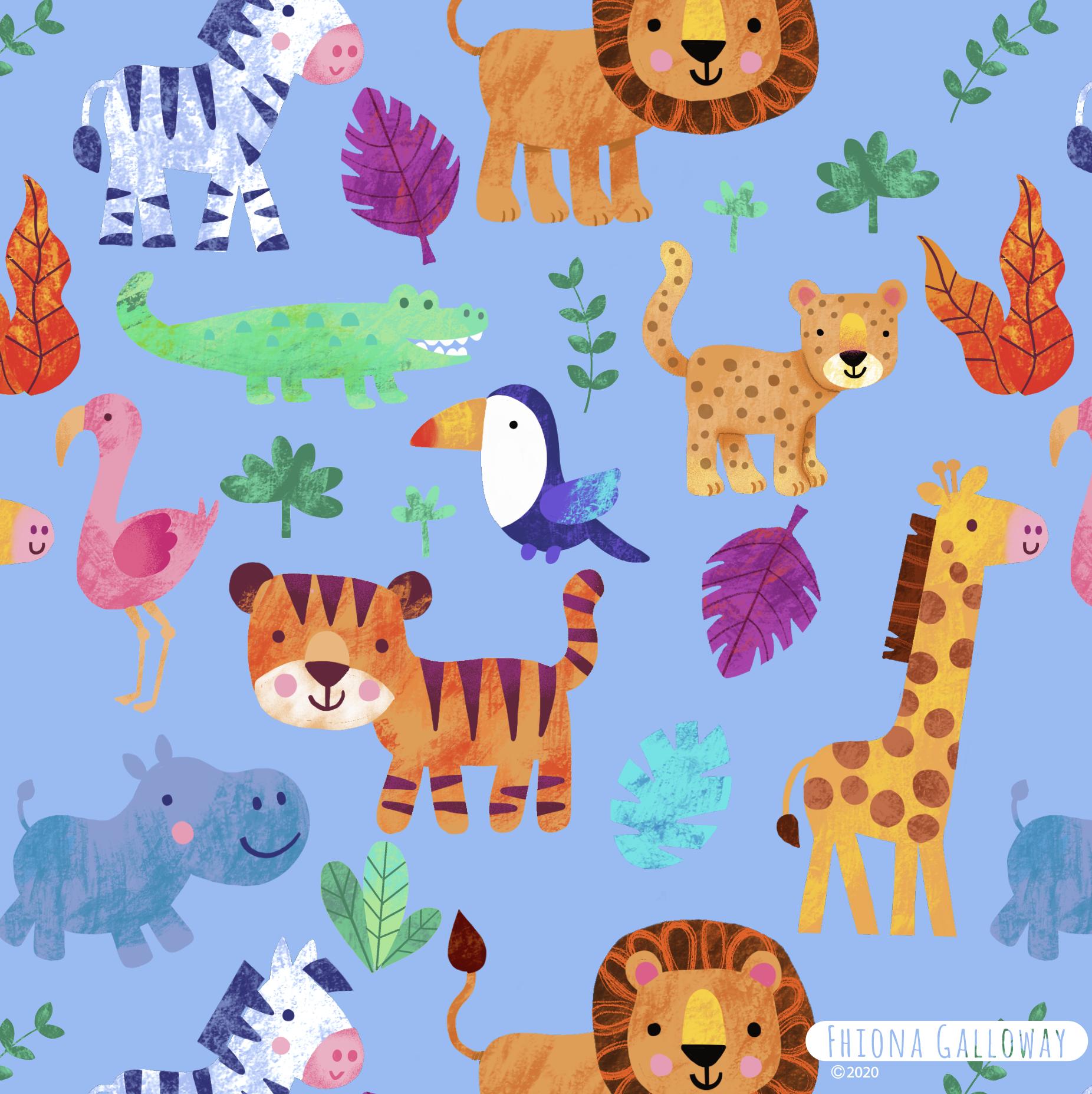 Jungle Pattern In